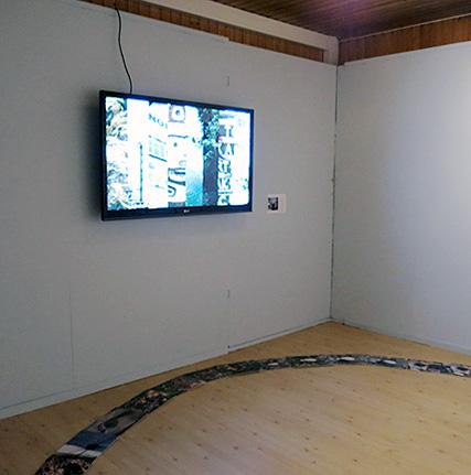 Exhibition Shot, Sámi University College, 2014