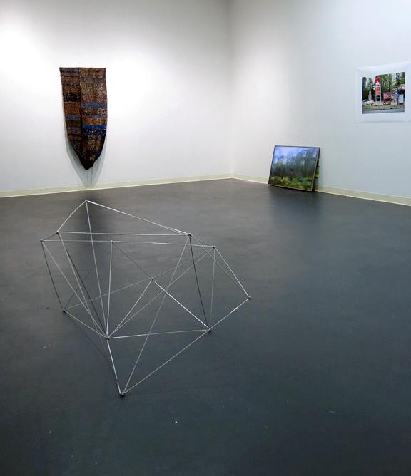 Framework 'formation 1', Steel & Magnets, 2014, Varies